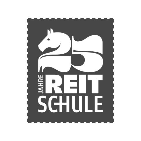 25 Jahre Reitschule logotype