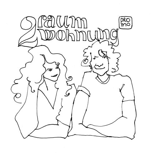 2Raumwohnung promo drawing