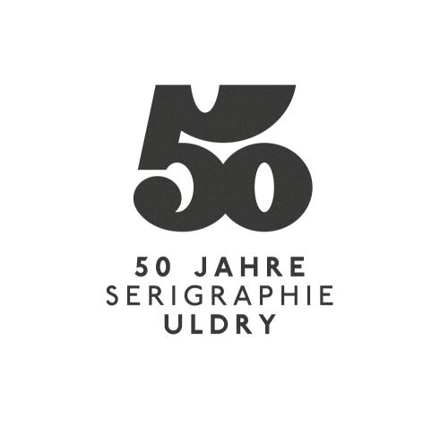 50 Years Serigraphie Uldry logotype