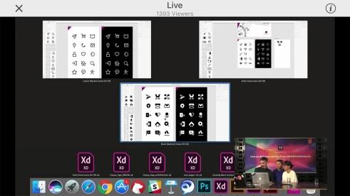 Adobe Xd Icon Kit by Büro Destruct live from the AWWWARDS 2018 Berlin
