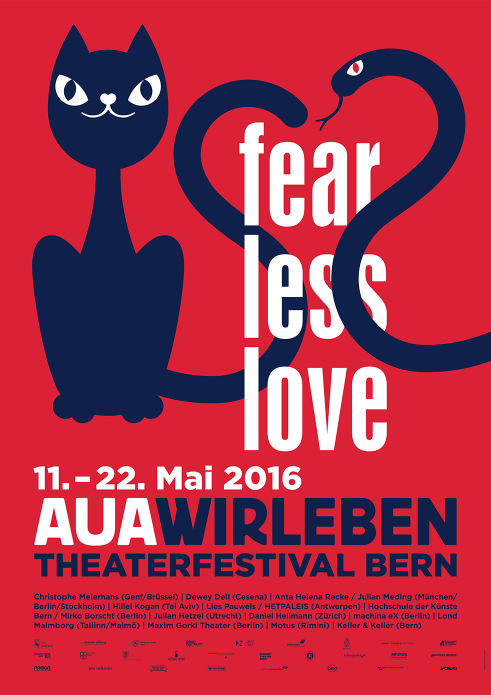 Auawirleben Theaterfestival poster 2016