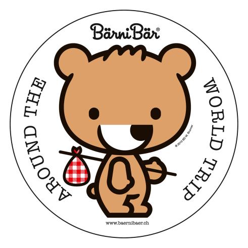 Bärni Bär worldtour sticker