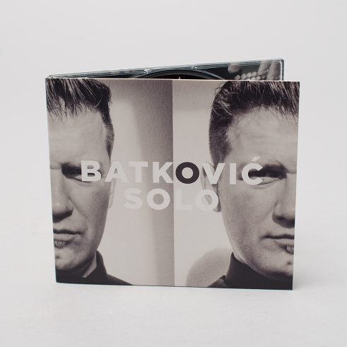 Batković Solo CD cover front