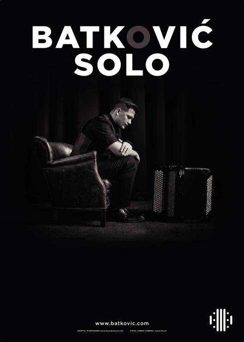 Batković Solo concert poster