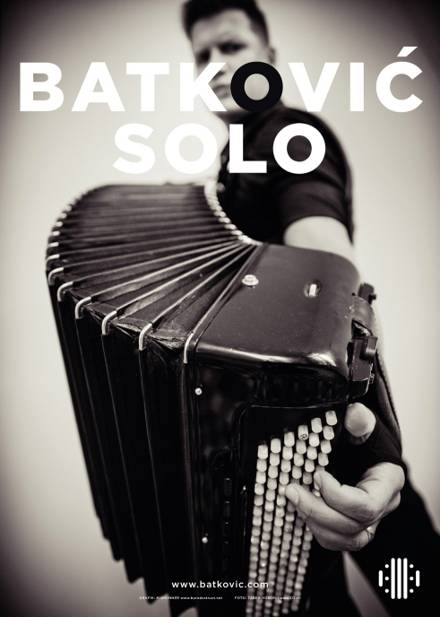 Batkovic Solo CD concert poster