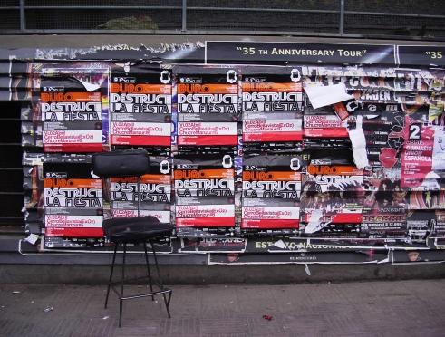 Chile Stopover La Fiesta posters