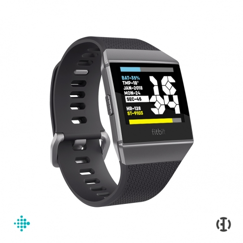 Fitbit Ionic Panzer watchface