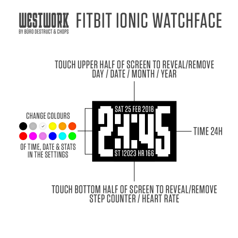 Westwork watchface manual