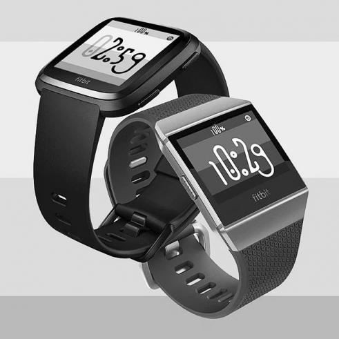 Fitbit Ionic Versa Barbeaux watchface