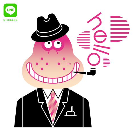 BD Monsieur Poire LINE sticker pack