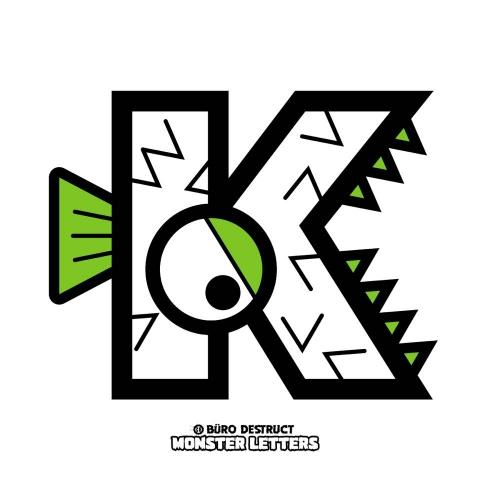 Monster Letters K