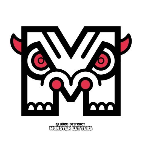 Monster Letters M