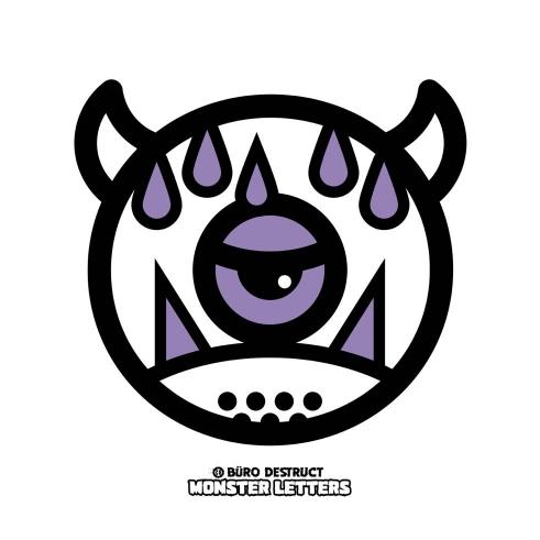 Monster Letters Q