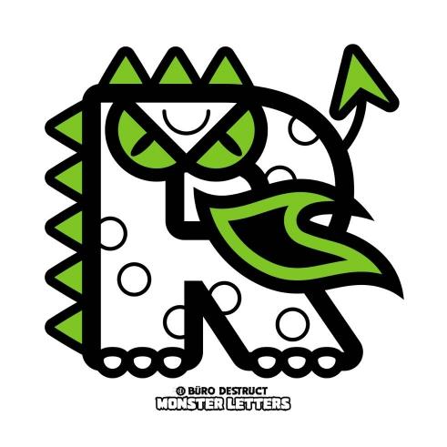 Monster Letters R