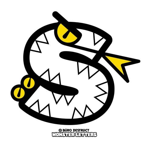 Monster Letters S
