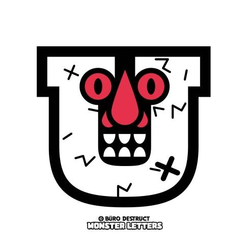 Monster Letters U