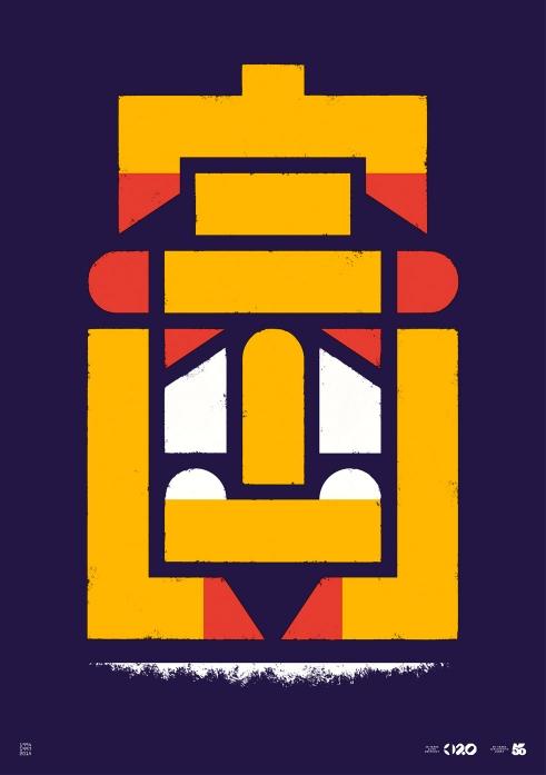 Büro Destruct Tribler Faulpelz poster