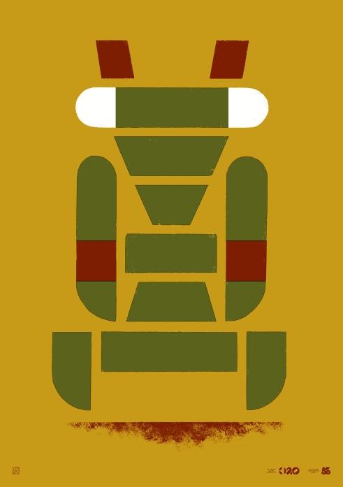 Büro Destruct Tribler Mantis poster