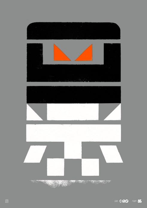 Büro Destruct Tribler Robot poster