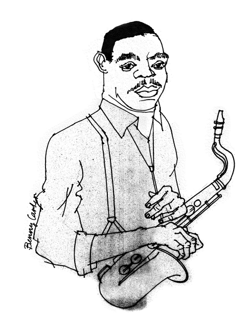 Benny Carter illustration