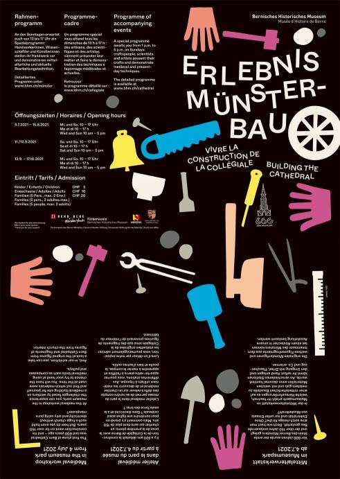 Erlebnis Münsterbau, BHM exhibition flyer