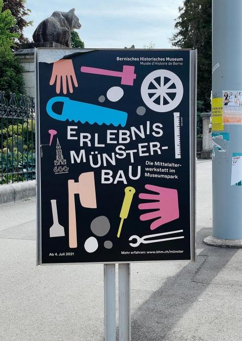 Erlebnis Münsterbau, BHM poster