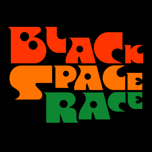Black Space Race logotype