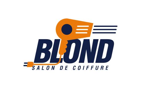 Blond Salon de Coiffure logotype