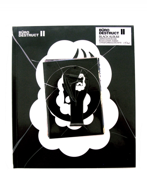 Büro Destruct II Book Black Album cover