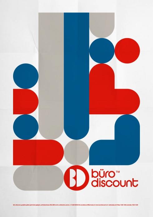 Büro Discount poster