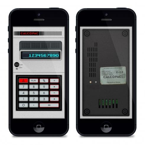 Calcopac iPhone app