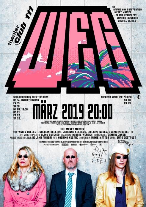Weg Theater Club 111 poster A2