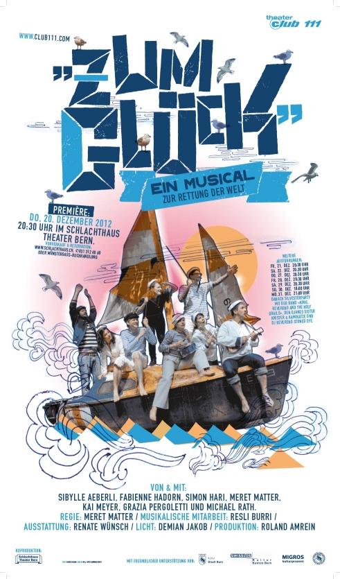Zum Glück Theater Club 111 poster