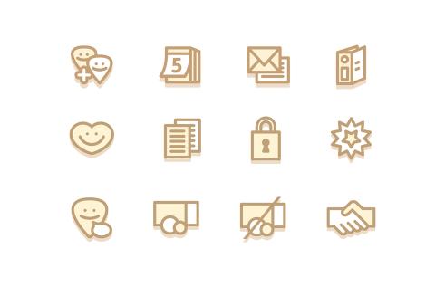 ClubDesk icons