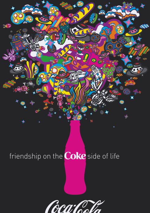 Coke Posters B 252 Ro Destruct