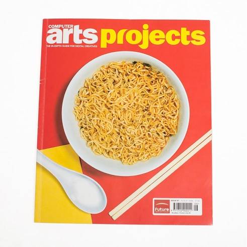 Computer Arts Projects Magazine cover