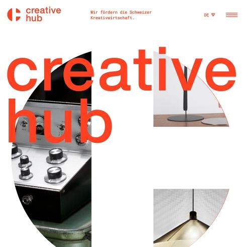 Creative Hub logotype and website