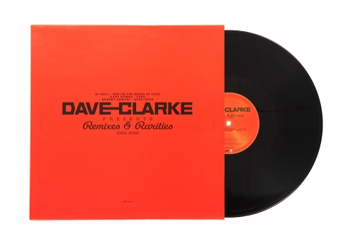 Dave Clark Remixes & Rarities maxi sleeve MM129A