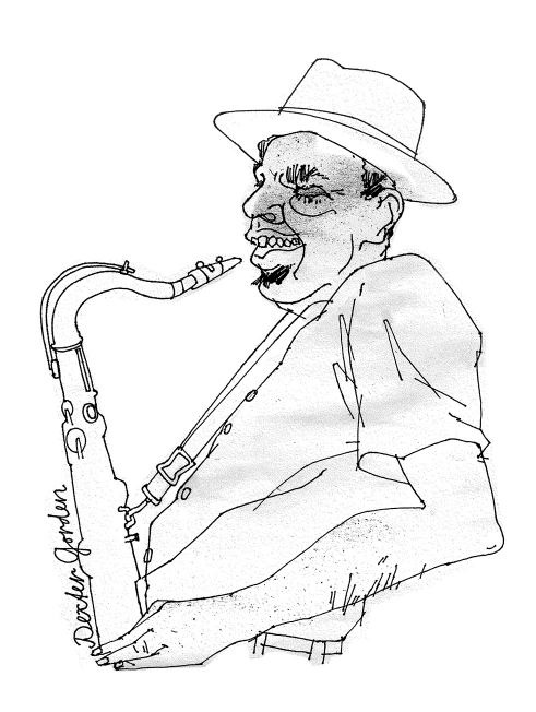 Dexter Gordon illustration