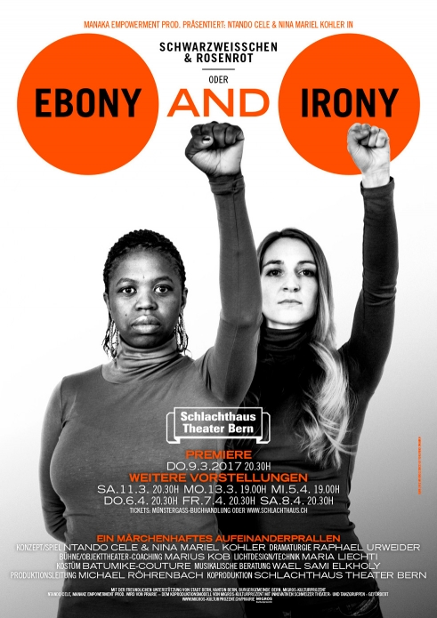 Ebony and Irony poster 2017