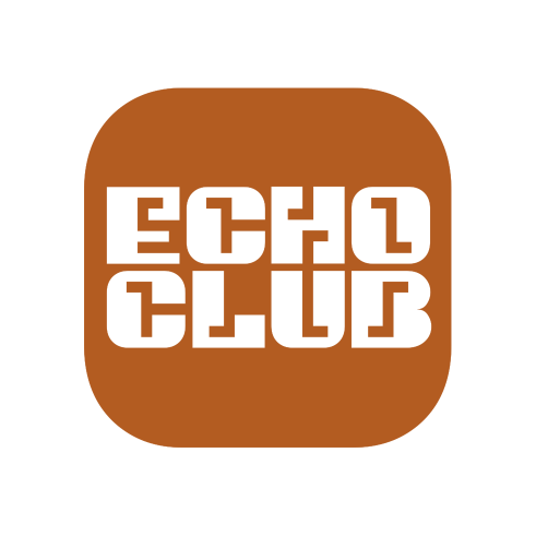 EchoClub club night logotype
