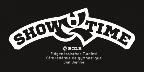 Eidgenössisches Turnfest 2013 Showtime logotype