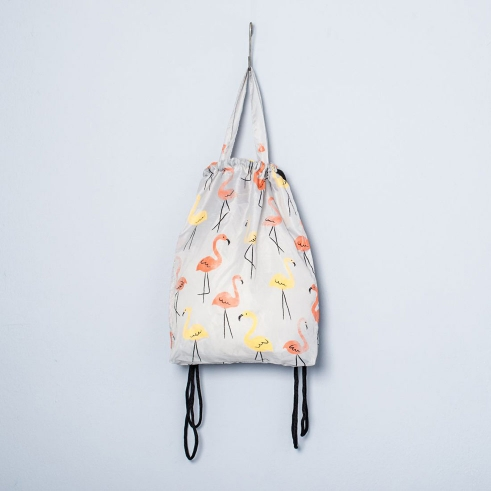 Kitchener flamingos bag