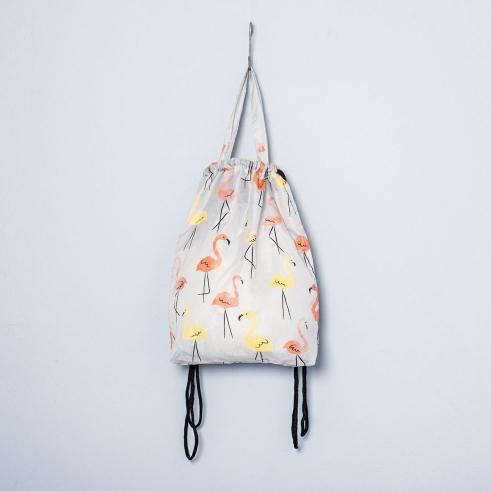 Kitchener flamingos bag