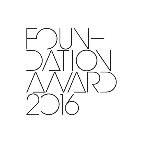 Foundation Award lettering