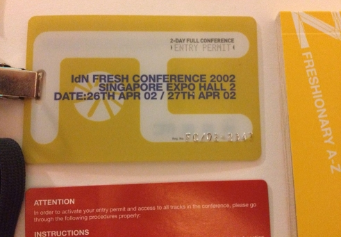 Fresh Conference 2002 Pass