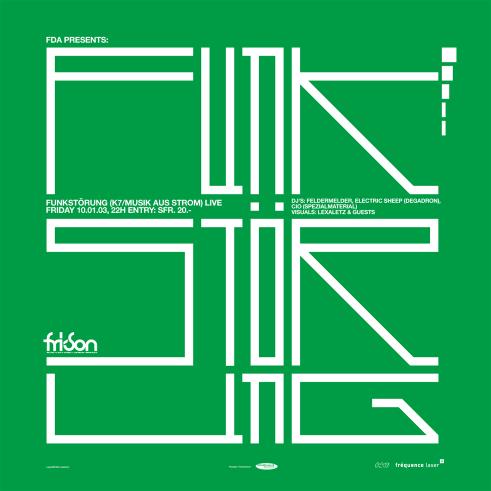 Fri-Son Funkstörung poster