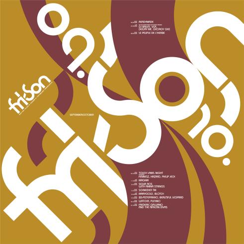 Fri-Son programme poster
