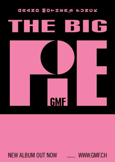 GMF The Big Pie concert poster