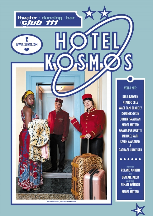 Hotel Kosmos postcard